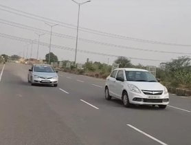 Maruti Dzire Vs Honda Civic Competing In A Drag Race