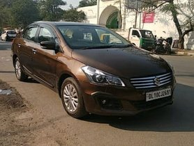2017 Maruti Suzuki Ciaz Zeta 1.3 Diesel MT for sale in New Delhi