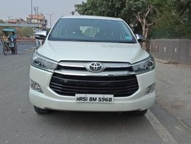 Used Toyota Innova Crysta 2.8 ZX AT 2016 for sale
