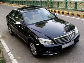 Used Mercedes Benz C-Class C 200 Kompressor Elegance AT car at low price