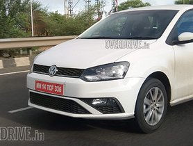 Volkswagen Polo Facelift Spotted In Pune