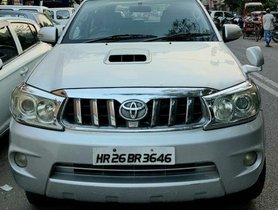 Used 2012 Toyota Fortuner 4x4 MT for sale