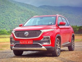 MG Hector Waiting Period SoarsTo 20 Weeks, 12,000 Booked So Far
