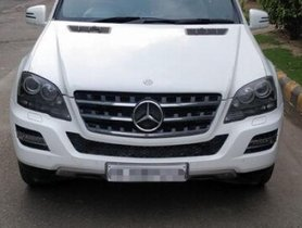 Used Mercedes Benz M Class ML 350 4Matic AT 2011 for sale