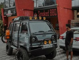 This Has To Be The Most Extreme Maruti Omni Ever Seen