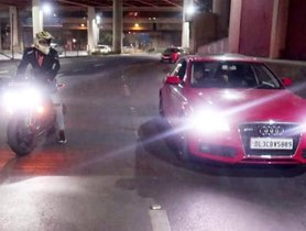 Audi A4's Driver Fined By Cops After Its Drag Race Video Went Viral