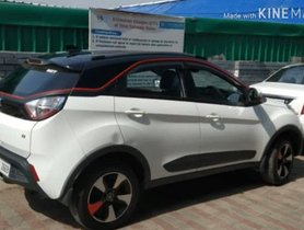 Check Out This Modified Tata Nexon With Dual-Tone Colour Scheme