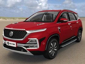 MG Hector Accessories, Warranty And Maintenance Package Explained