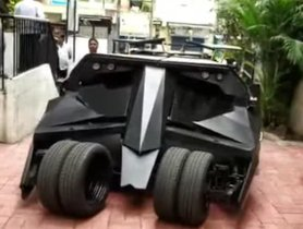 The First Batmobile Tumbler In India Looks Insane