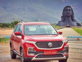 BSVI-compliant MG Hector To Be Launched In January 2020