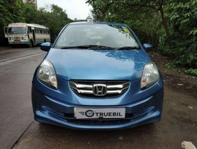 Used Honda Amaze car MT at low price