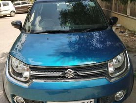 Used Maruti Suzuki Ignis car AT at low price