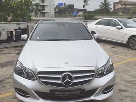 Used 2015 Mercedes Benz E Class car AT for sale at low price