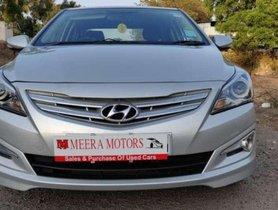 Used Hyundai Verna car 1.6 CRDi S MT at low price