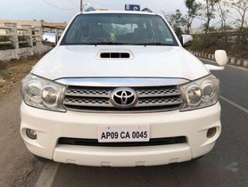 Used Toyota Fortuner MT for sale at low price