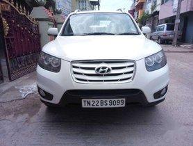 Used Hyundai Santa Fe car 2010 MT for sale at low price