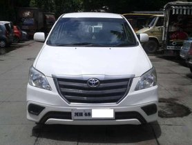 Used Toyota Innova car 2015  MT for sale at low price