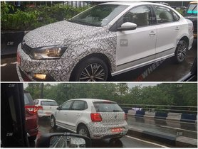 New Volkswagen Polo and Vento Spied Again Ahead Launch