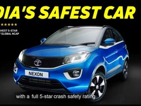 Tata Nexon Gets An Amusing New Advertisement For Its 5-Point Safety Rating