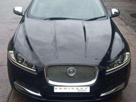 Used Jaguar XF car 2013 Diesel AT for sale at low price