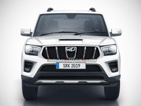 2020 Mahindra Scorpio Might Get Alturas-inspired Front Design