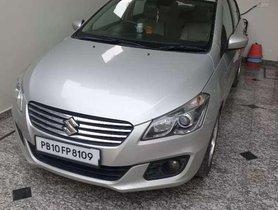 Used Maruti Suzuki Ciaz car MT at low price