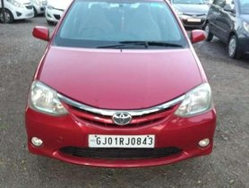 2012 Toyota Etios V MT for sale at low price