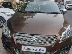 Used Maruti Suzuki Ciaz car MT for sale at low price