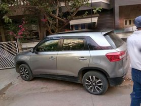 Used Maruti Suzuki Vitara Brezza VDI MT car at low price