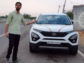 Tata Harrier Top Speed Tested On Video