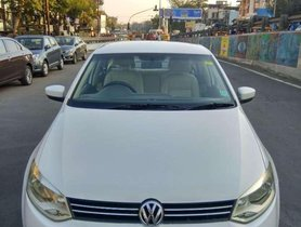Used Volkswagen Vento car AT at low price