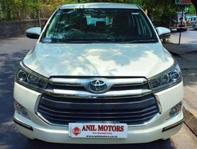 Used Toyota Innova Crysta car 2.4 VX MT 8S MT for sale at low price