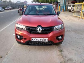 Used Renault KWID car MT at low price