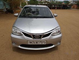 Used Toyota Etios car V MT for sale at low price