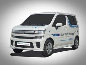 Maruti WagonR EV To Launch In 2020