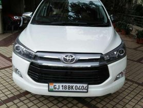 Used Toyota Innova Crysta car 2018 AT for sale at low price