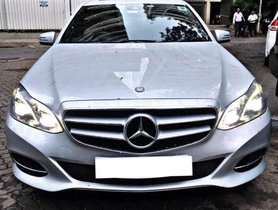 Used Mercedes Benz E Class 2013 AT for sale