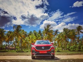 MG Motor India Suspends Bookings For MG Hector