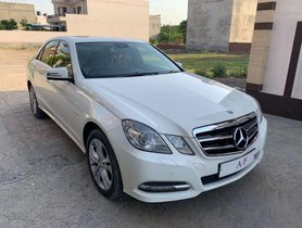 Used Mercedes Benz E Class AT for sale car at low price
