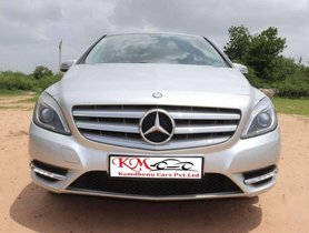 Used Mercedes Benz B Class car 2014 Diesel AT for sale  at low price