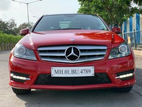 Used Mercedes Benz C-Class C 220 CDI Grand Edition AT 2014 for sale