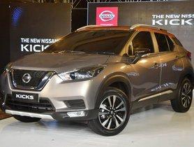 Nissan Kicks Added To ZoomCar ZAP Program