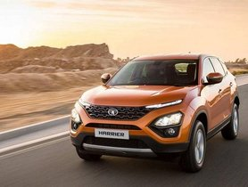 Tata Harrier To Soon Start Offering An Optional Sunroof