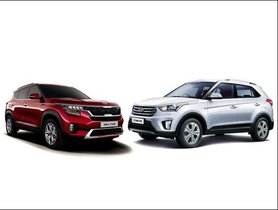 Kia Seltos Vs Hyundai Creta Prices Specifications, Interior, Dimensions Comparison