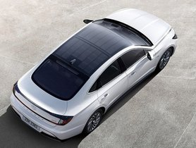 Hyundai Sonata Hybrid To Feature Sunroof With Solar Panels