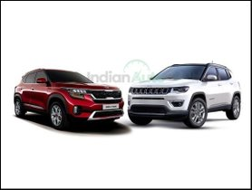 Kia Seltos Vs Jeep Compass – Spec Comparison