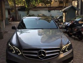 Used Mercedes Benz E Class AT car at low price