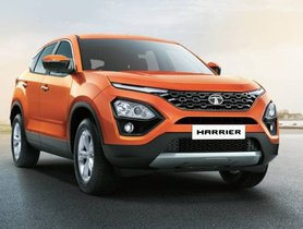 Tata Harrier Automatic With Sunroof Spied For The First Time
