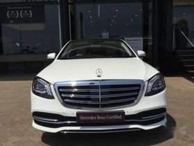 2018 Mercedes Benz S Class S 350 CDI AT for sale