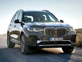 BMW X7 2019 Launched In India At Rs 98.90 Lakh